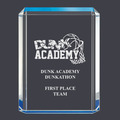 Blue Shimmer Acrylic Sports Award Trophy