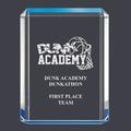 Blue Shimmer Acrylic Sports Award Trophy