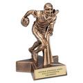 Football Superstar Resin Award Trophy
