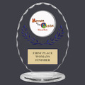 Free Standing Oval Sports Award Trophy