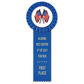 Little Rose Sports Rosette Award Ribbon