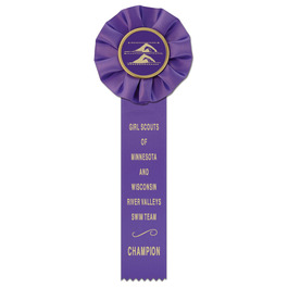 Empire 1 Sports Rosette Award Ribbon