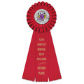 Luxury Sports Rosette Award Ribbon