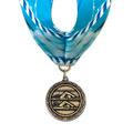 MX Swim Award Medal w/ Millennium Neck Ribbon