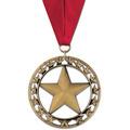 Rising Star Swim Award Medal with Grosgrain Neck Ribbon