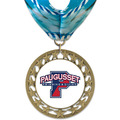 RS14 Full Color Swim Award Medal with Millennium Neck Ribbon