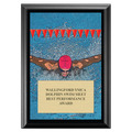 Butterfly Swimming Award Plaque - Black