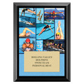 Swim Collage Award Plaque - Black