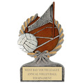 Volleyball Sports Resin Trophy