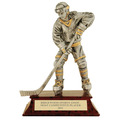 Female Hockey Signature Resin Trophy