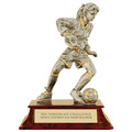 Female Soccer Signature Resin Trophy