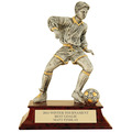 Male Soccer Signature Resin Trophy