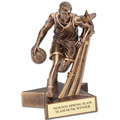 MALE BASKETBALL SUPERSTAR SERIES RESIN TROPHY
