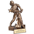 Female Softball Superstar Resin Award Trophy