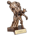 Wrestling Superstar Resin Trophy