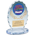 "5"" Free Standing Oval Sports Award Trophy"