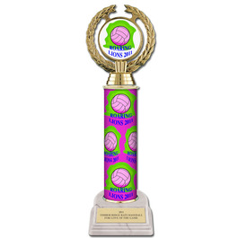 "12"" Design Your Own Sports Award Trophy w/ White Base"
