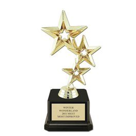 Award Trophy w/ Square Base