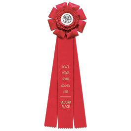 Wellfleet Fair, Festival & 4-H Rosette Award Ribbon