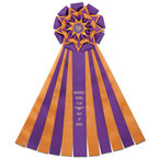 Witley Dog Show Rosette Award Ribbon
