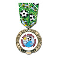 XBX Medal w/ Multicolor Neck Ribbon