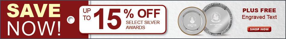 Save Now! 8 Days Only - Silver Awards
