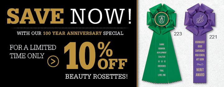 10% Off Beauty Rosettes