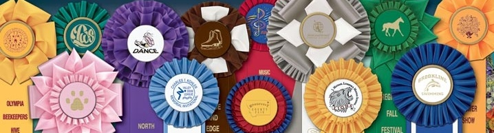 Custom Awards| Custom Award Ribbons | Stock Award Ribbons