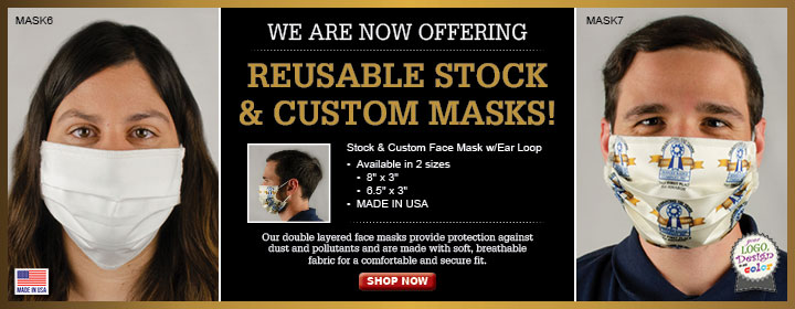 Reusable Stock and Custom Masks