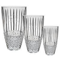 Krystof Crystal Barrel Vase Trophies