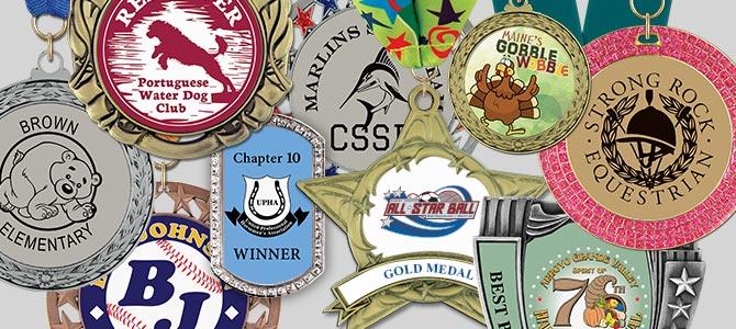 Custom Full Color Center Award Medals