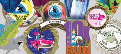 Custom Marathon/5K/10K Award Medals