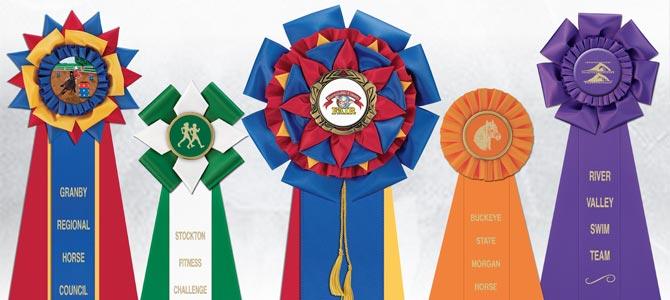 Custom Rosette Award Ribbons for Any Event