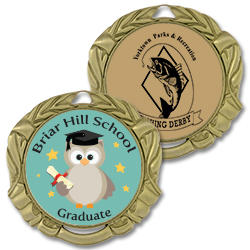 XBX Full Color Award Medals
