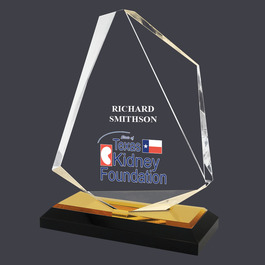 Full Color Summit Acrylic Award Trophy