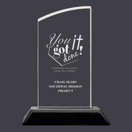 Swatch Acrylic Award Trophy