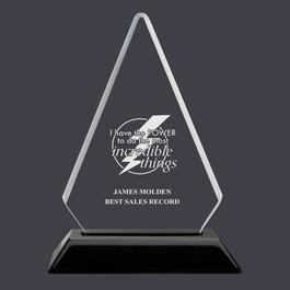 Arrowhead Acrylic Award Trophy