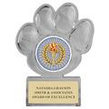 Paw Print Acrylic Award Trophy