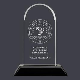 Arch Acrylic Award Trophy