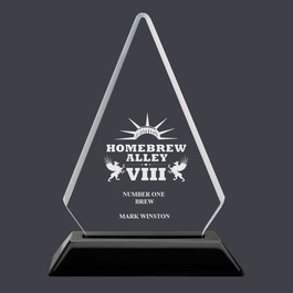 Arrowhead Acrylic Award Trophy