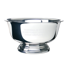 Sterling Silver Revere Award Bowl