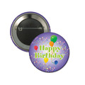 Happy Birthday Balloon Button