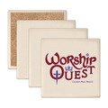 Square Sandstone Award Coasters