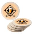 Round Sandstone Award Coasters