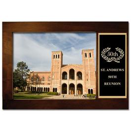 Espresso Hard Wood Award Frame