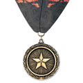 LX Medal w/ Custom Millennium Neck Ribbon