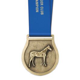VX Award Medal w/ Satin Neck Ribbon