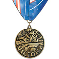 WC Medal w/ Custom Millennium Neck Ribbon