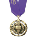 ES Award Medal w/ Satin Neck Ribbon