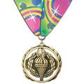 ES Medal w/ Custom Millennium Neck Ribbon
